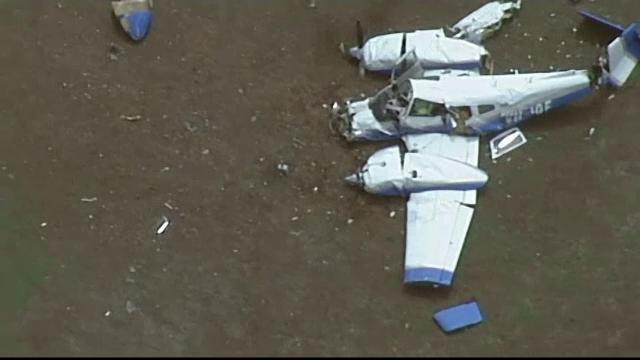 Accident aerian bizar în Australia, soldat cu 4 morți. Două avioane s-au ciocnit în aer