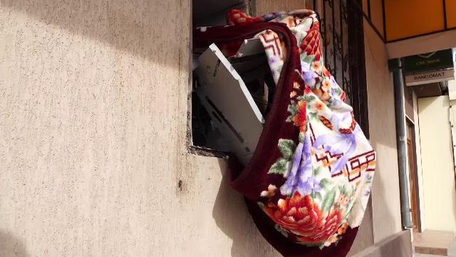 Bancomat aruncat în aer în Constanța. Hoții nu au fost încă prinși