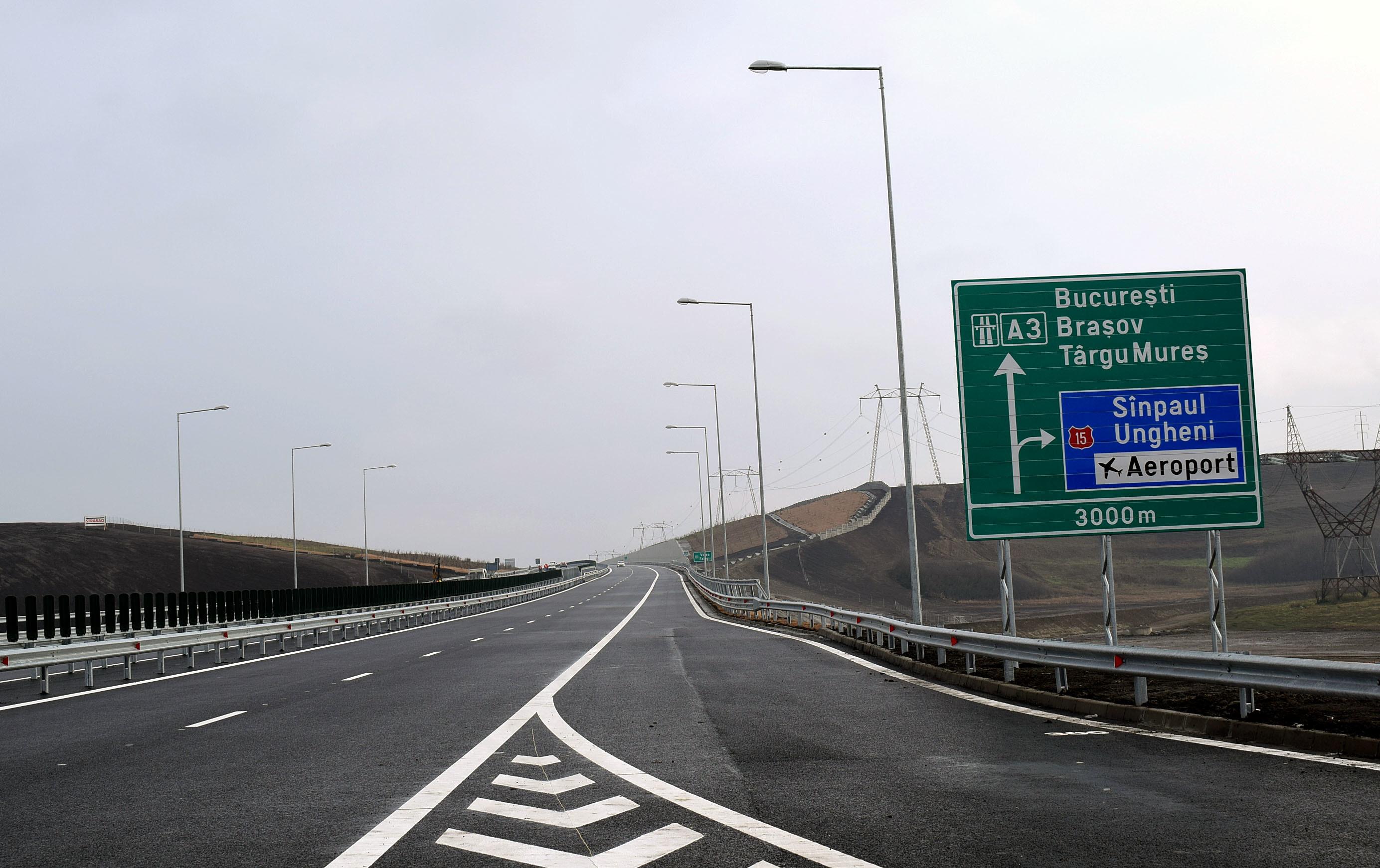 Secretar de stat în Ministerul Transporturilor: Sectorul de autostradă Ungheni-Târgu Mureș va fi gata până la finalul anului