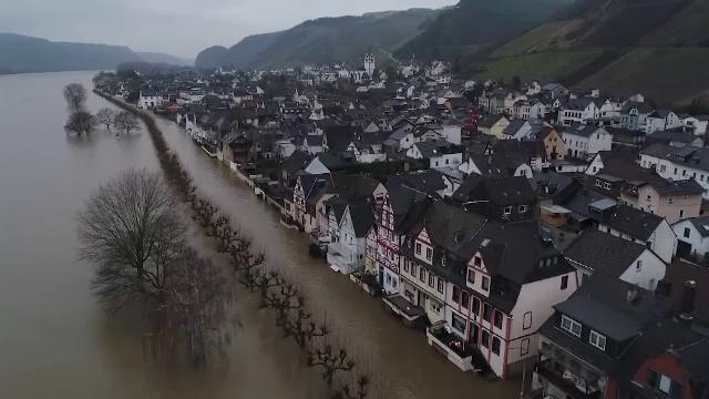Franța și Germania, afectate de inundații grave. Oamenii se pregătesc de evacuare