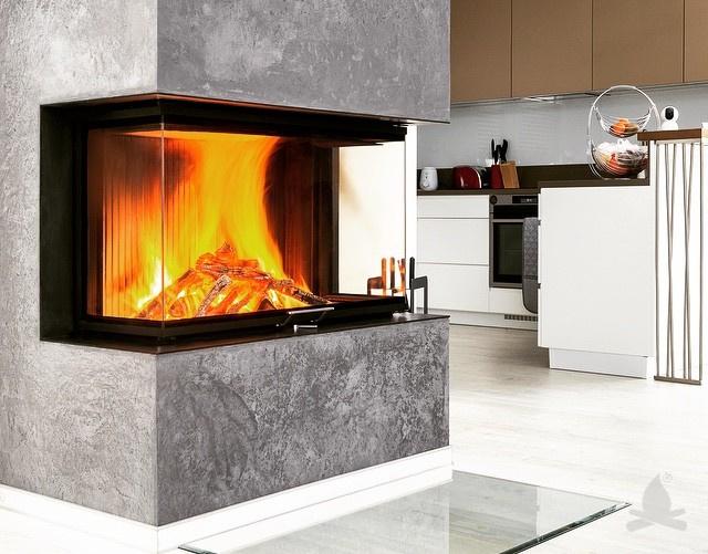 (P) Alege un șemineu care îți va însufleți căminul cu căldura specifică focului pe lemne!