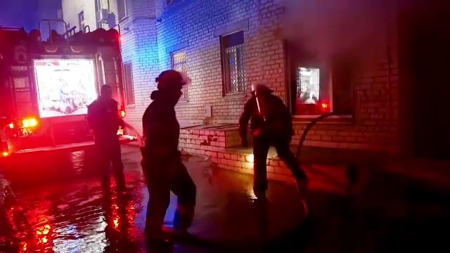 Incendiu puternic la un spital Covid din Ucraina. Au murit trei pacienți și un medic