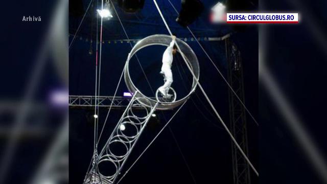 Acrobatul care s-a prăbuşit în gol de la 7 metri în arena Circului Metropolitan din Bucureşti, operat de urgenţă