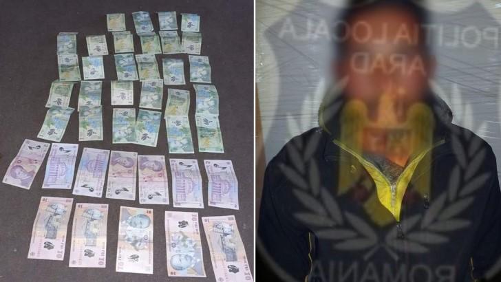 Val de indignare pe Facebook, după ce poliția din Arad a confiscat banii unui cerșetor