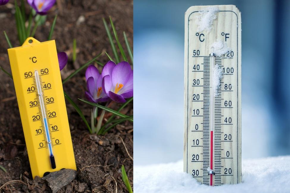 Vreme caldă în Banat, ger în Moldova și Bucovina. Diferențe de peste 20 de grade între regiuni