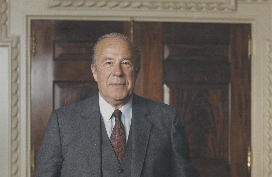 Fostul diplomat american George Shultz s-a stins din viață.