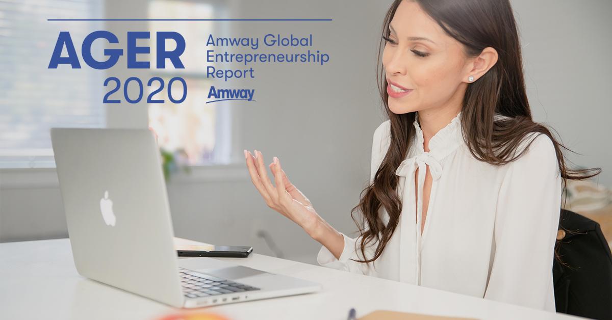(P) Raportul global de antreprenoriat AMWAY 2020 confirmă creșterea interesului către antreprenoriat