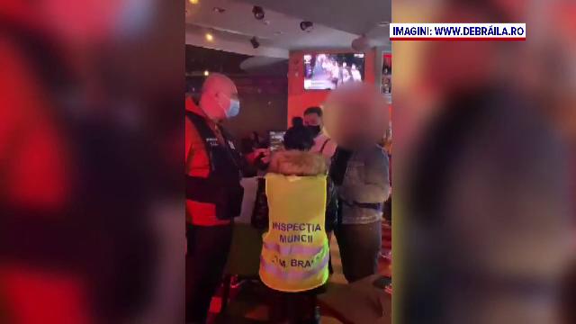 """Reacția nervoasă a unui patron de bar când polițiștii au venit în control. """"Faceți abuz"""""""