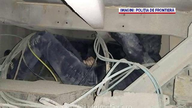Doi sirieni au încercat să intre în România ascunşi sub un camion. Au mers 10 km agăţaţi de osie
