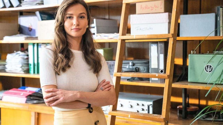 """Aida Economu, actrița din serialul Profu`: """"Nu mi-am dorit niciodată să fiu profesor"""""""