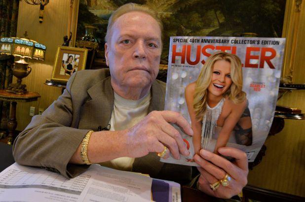 A murit milionarul american Larry Flynt, fondatorul revistei pentru adulți Hustler