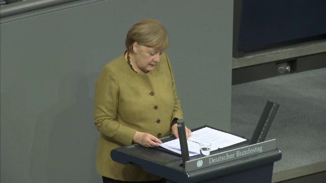 """Angela Merkel, avertisment cu privire la mutațiile Covid-19. """"Pot nărui toate eforturile"""""""