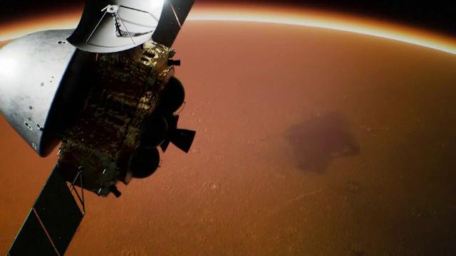 Imagini inedite cu Marte, surprinse de sonda chineză care a intrat pe orbita planetei