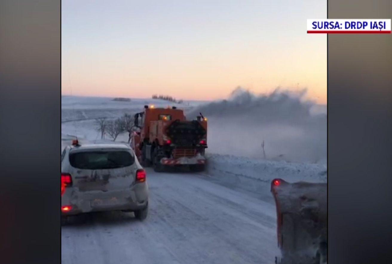 România a înghețat. Zonele unde s-au resimțit chiar și -30 grade Celsius