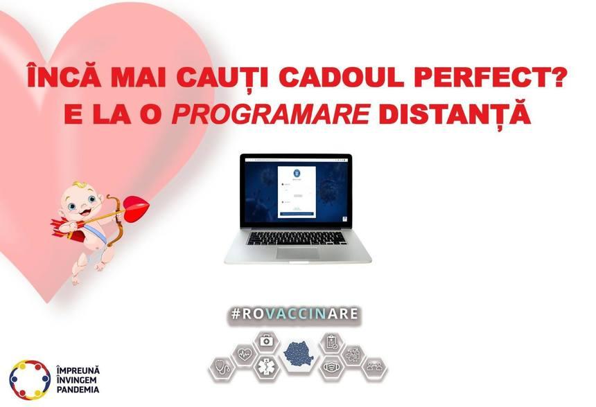 """CNCAV, mesaj de Valentine's Day: """"Încă nu ai găsit cadoul perfect? Programează-ţi jumătatea la cele 2 întâlniri salvatoare"""""""