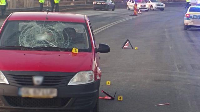 Doi polițiști care dirijau traficul în Galați, loviți în plin de o șoferiță. Cum a fost posibil
