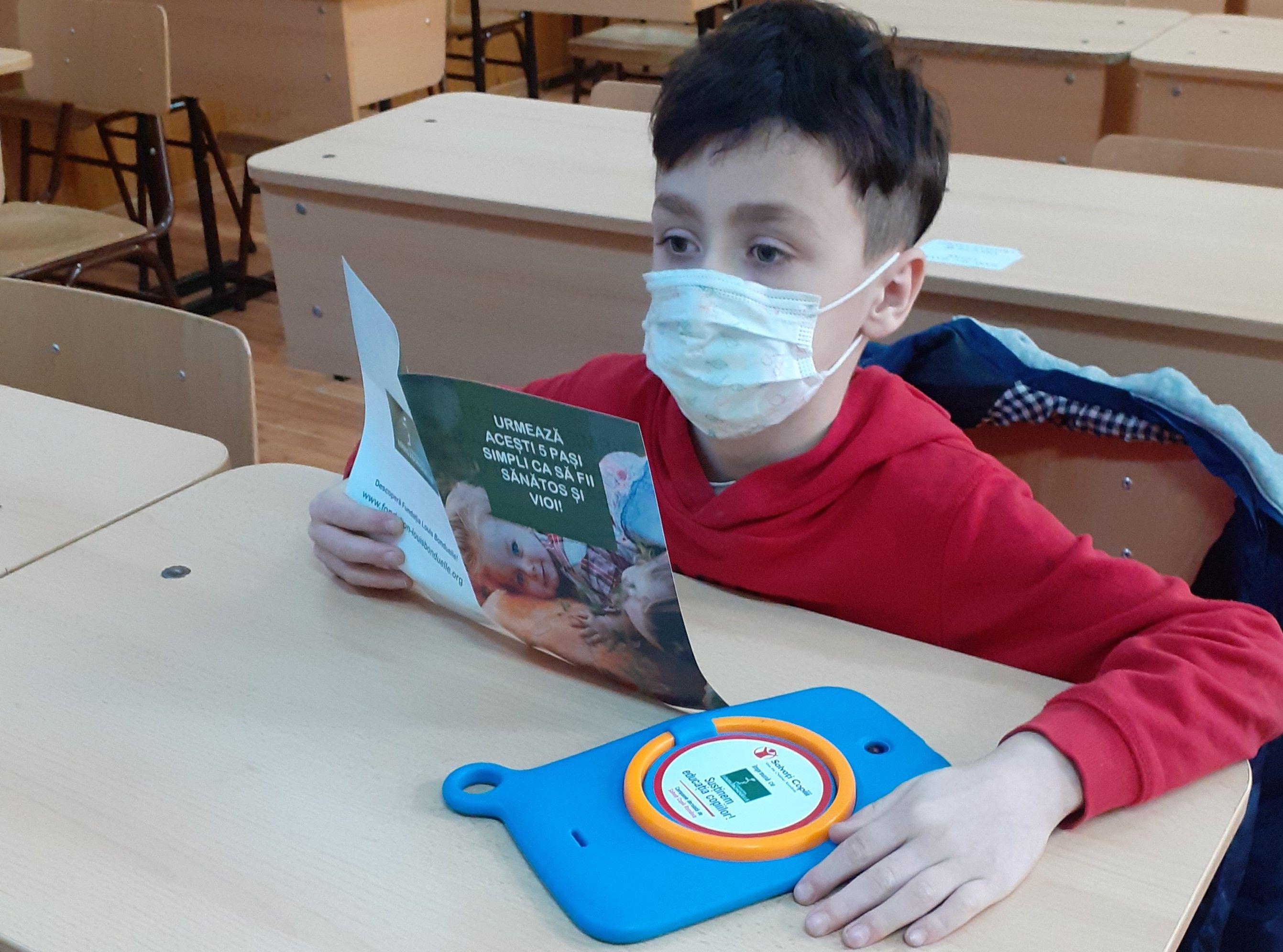 (P) Fundația Louis Bonduelle susține dreptul la alimentație sănătoasă și educație pentru copii