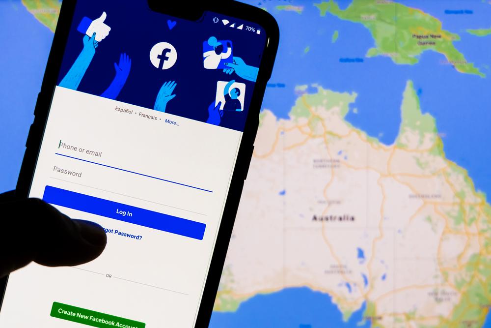 Cum arată Facebook în Australia după ce a fost blocată postarea sau distribuirea de ştiri