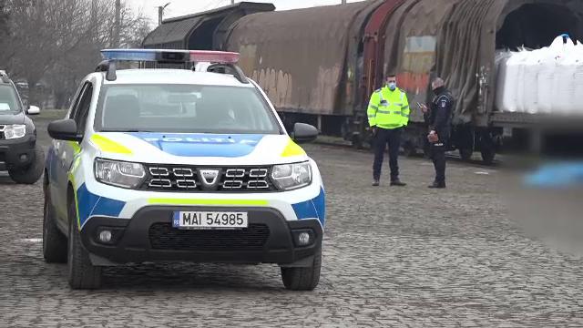 Un bărbat a murit în timp ce descărca îngrășăminte chimice dintr-un tren, la Sebeș