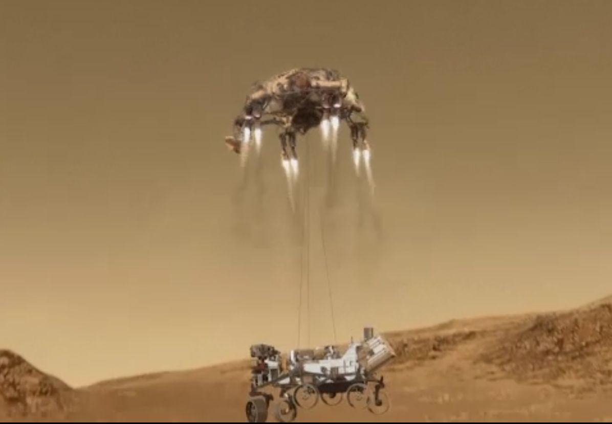 NASA a ajuns din nou pe Marte. Roverul