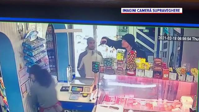 Sucevean lăsat liber după ce a amenințat cu pistolul o vânzătoare pentru două iaurturi. Imediat, s-a întors să le plătească