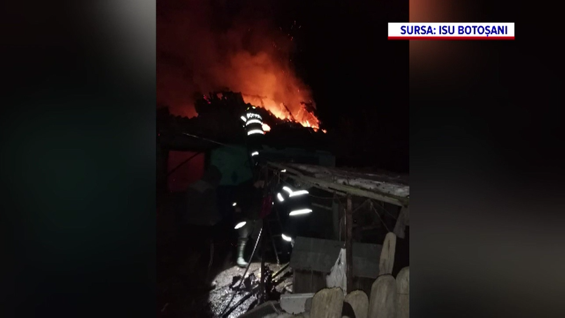 O bătrânică de 86 de ani a murit în Botoșani în incendiul care i-a cuprins locuința
