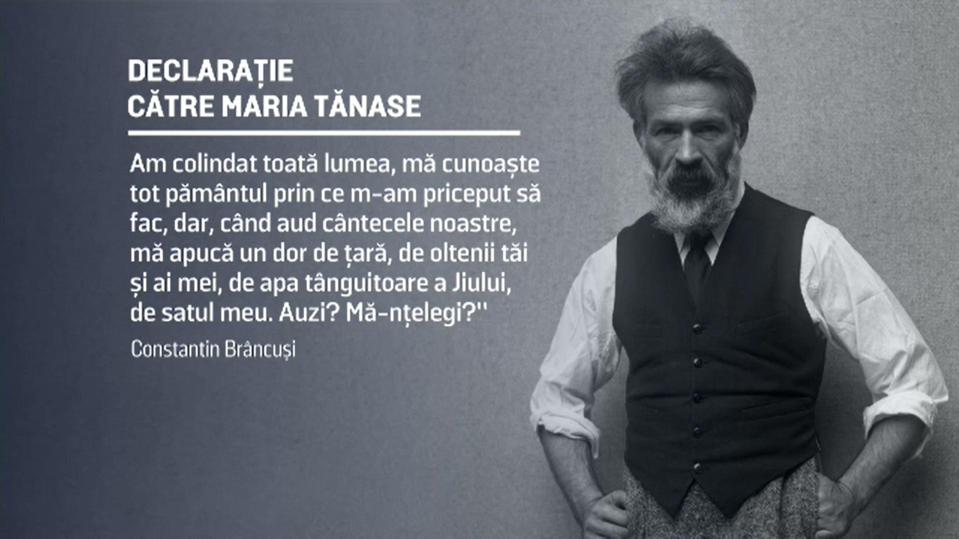 Ziua Națională Constantin Brâncuși. Cum s-a îndrăgostit de la prima vedere de Maria Tănase