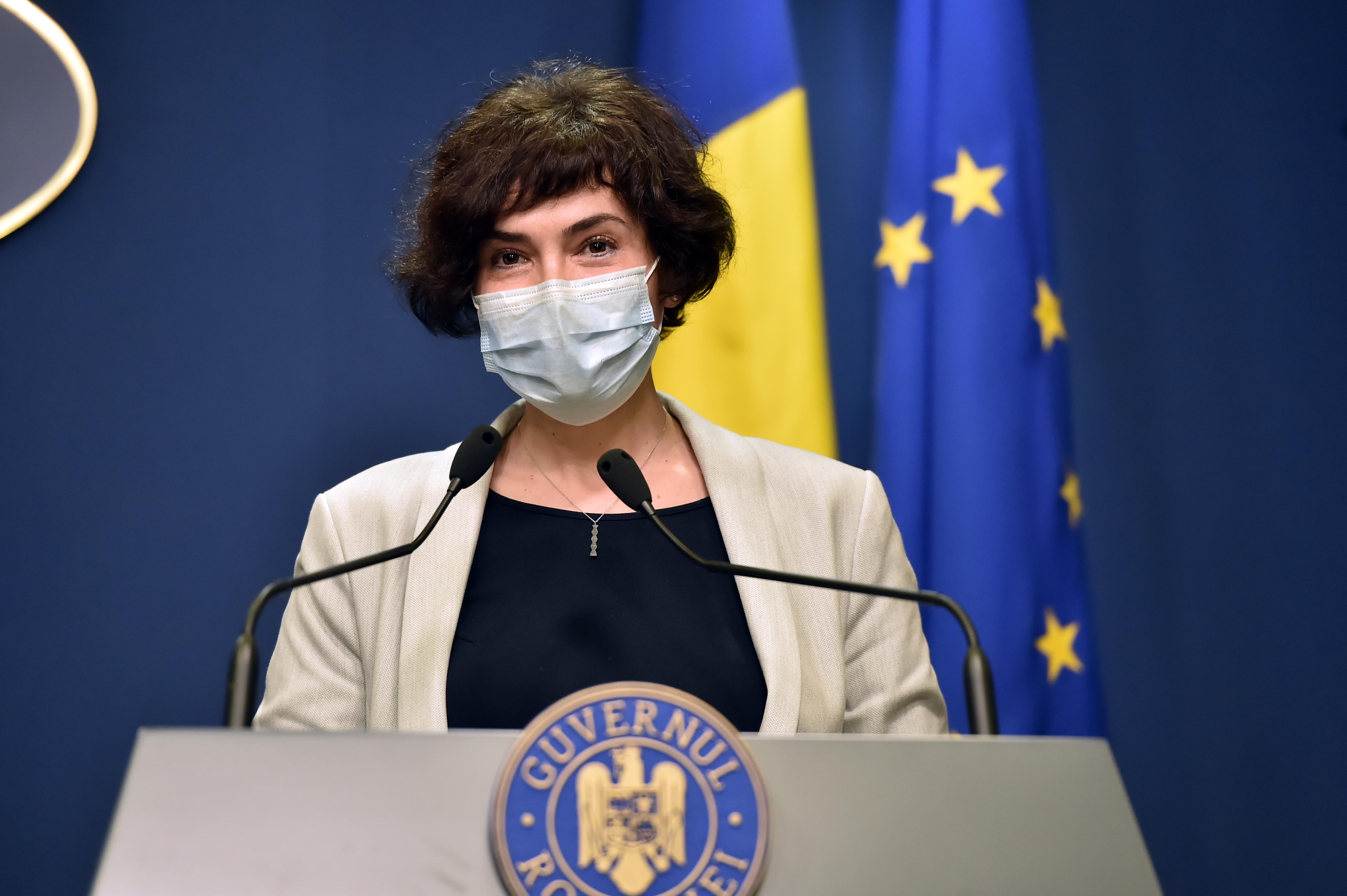 Andreea Moldovan, întrebată dacă poate fi oprit valul trei fără carantină: Nu cred, procesul este mult prea amplu