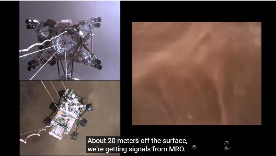 Imagini istorice: NASA prezintă filmul amartizării. Primele sunete de pe Marte