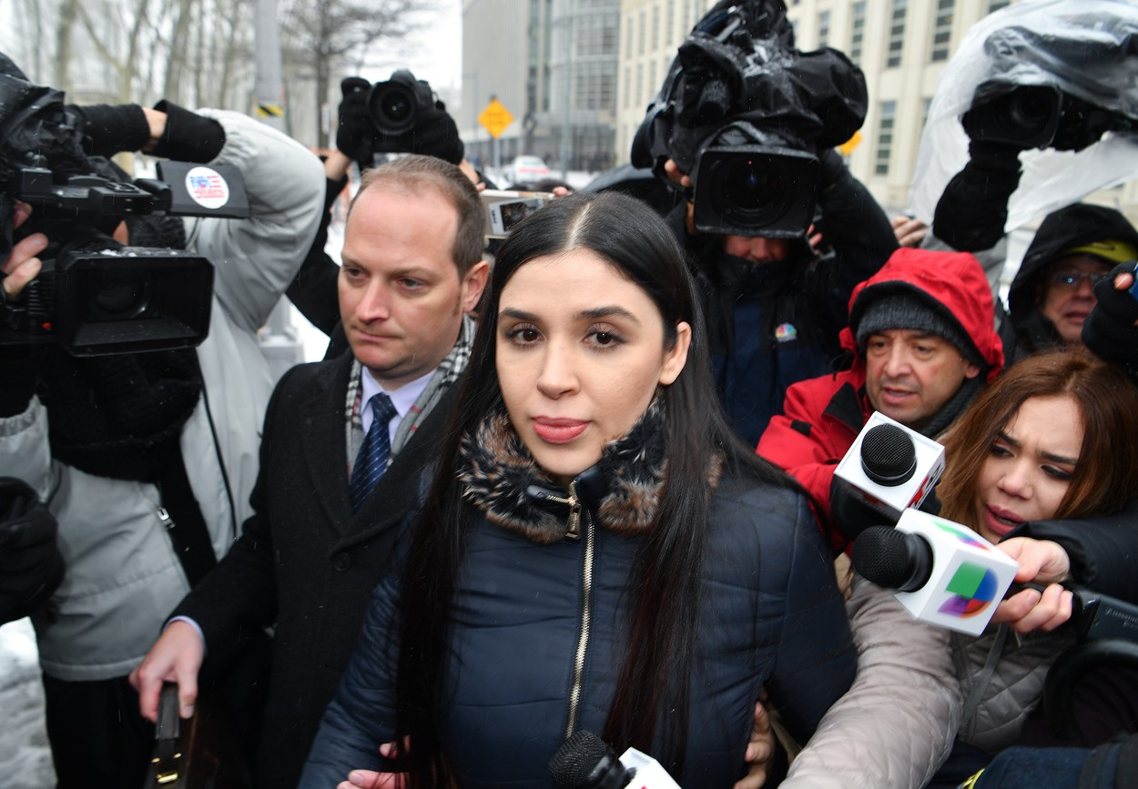"""Soţia lui Joaquin """"El Chapo"""" Guzmán a fost arestată în SUA pentru trafic de droguri"""