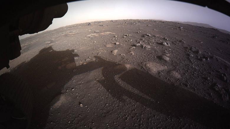 AUDIO. Ce se aude pe Marte. Primele sunete inregistrate pe planeta rosie
