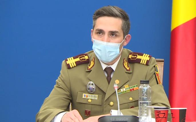 Gheorghiţă: Avem o tendinţă de creştere a numărului de cazuri de COVID. Sperăm să fie una lentă