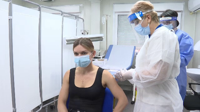 Reacţia Simonei Halep, după ce s-a vaccinat împotriva Covid-19. De ce a avut emoţii