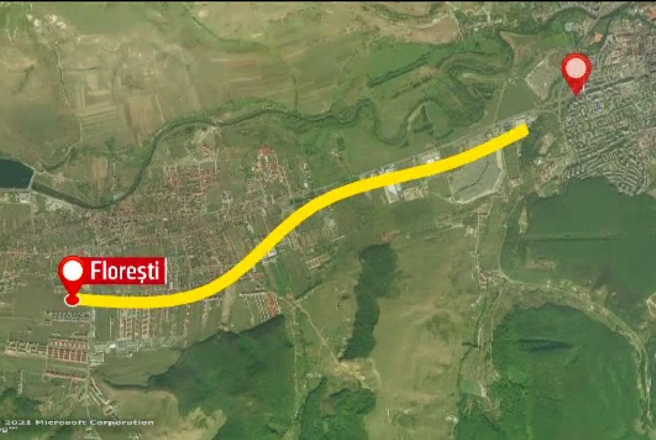 Metroul din Cluj-Napoca s-a lovit de un