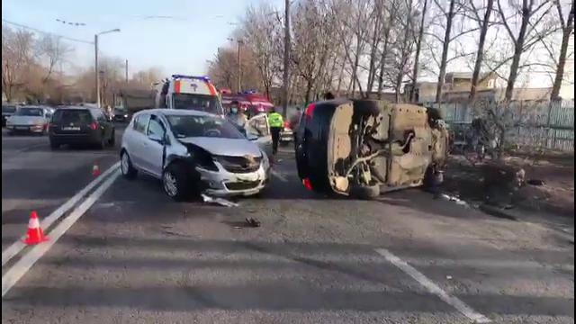 Accident violent petrecut în Târgoviște. Cum s-a întâmplat