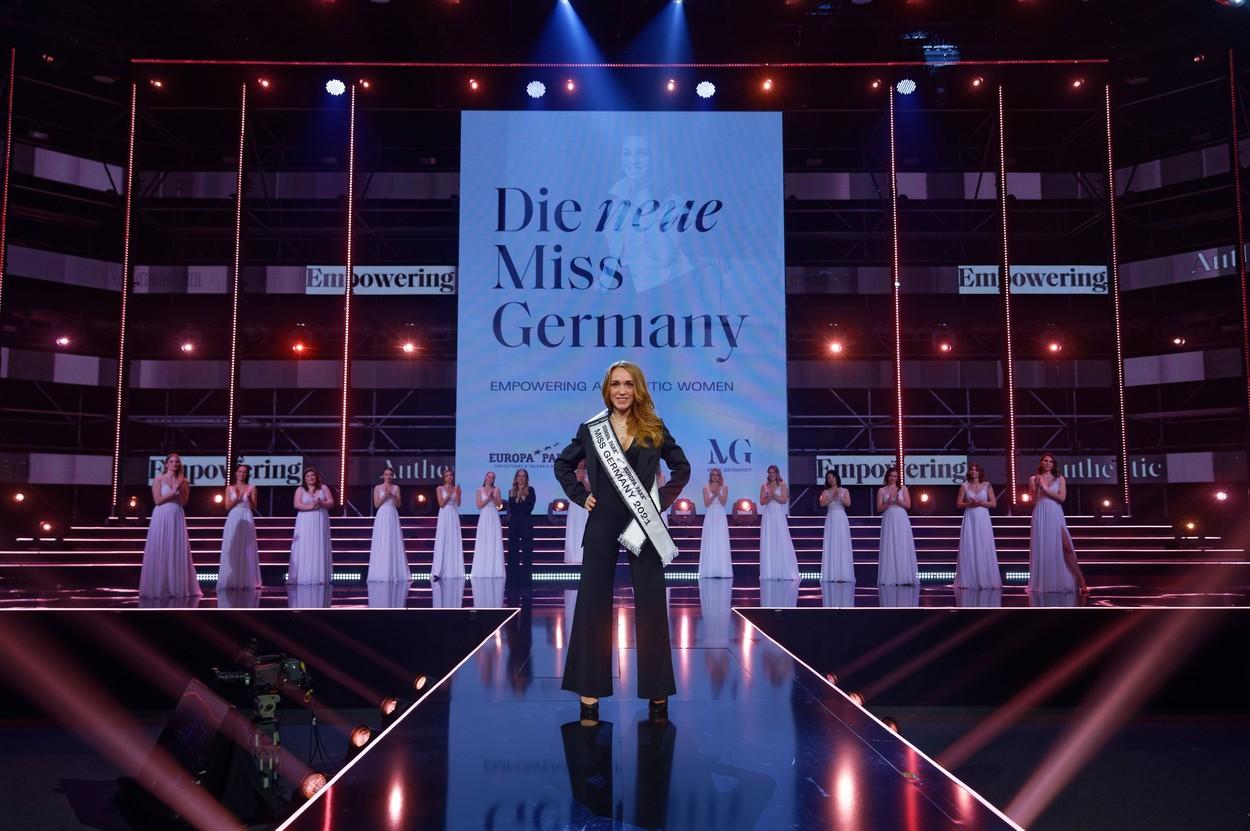 Cum arată noua Miss Germania. Are 33 de ani şi doi copii