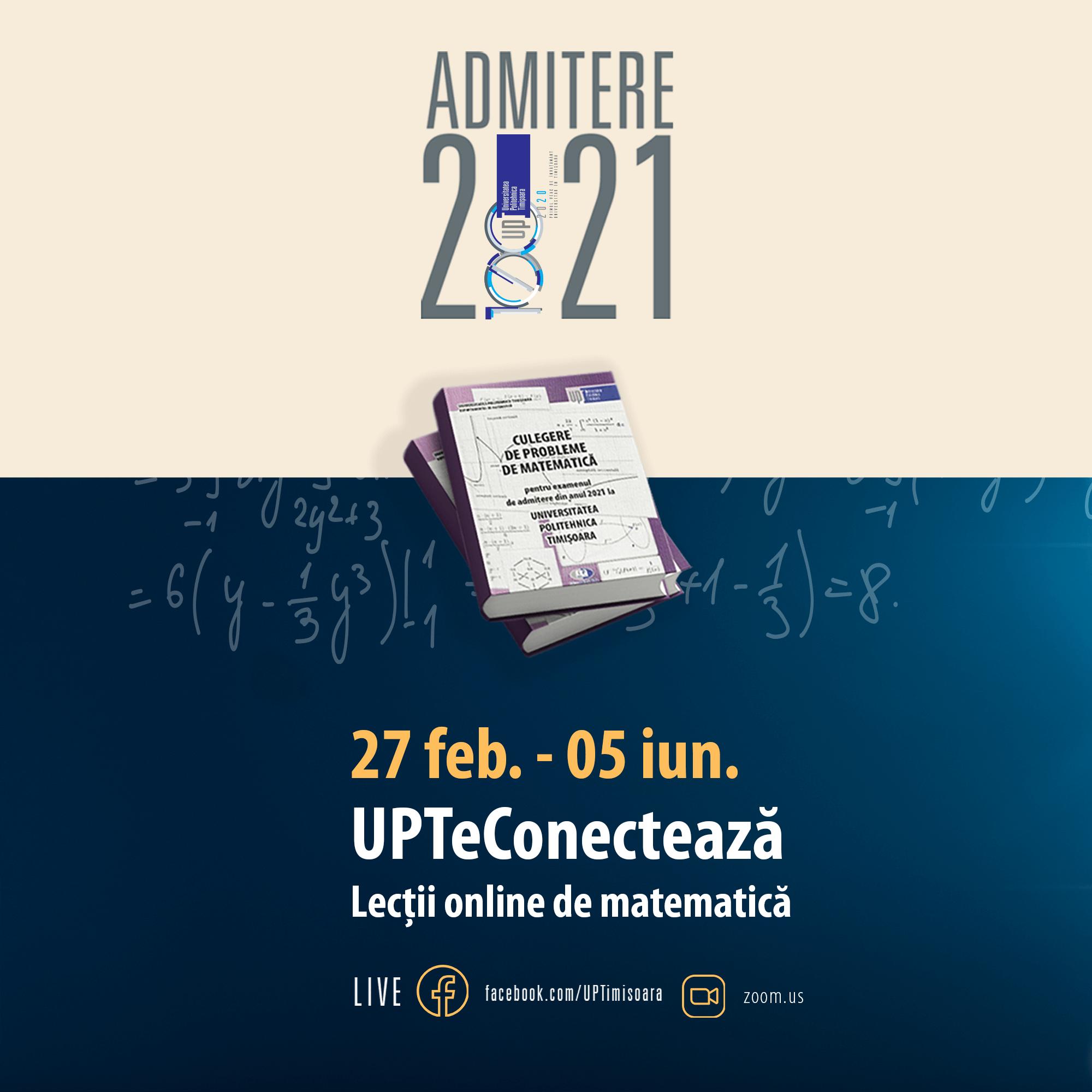Universitatea Politehnica Timișoara oferă meditații gratuite pentru liceenii care dau examen de bacalaureat și admitere