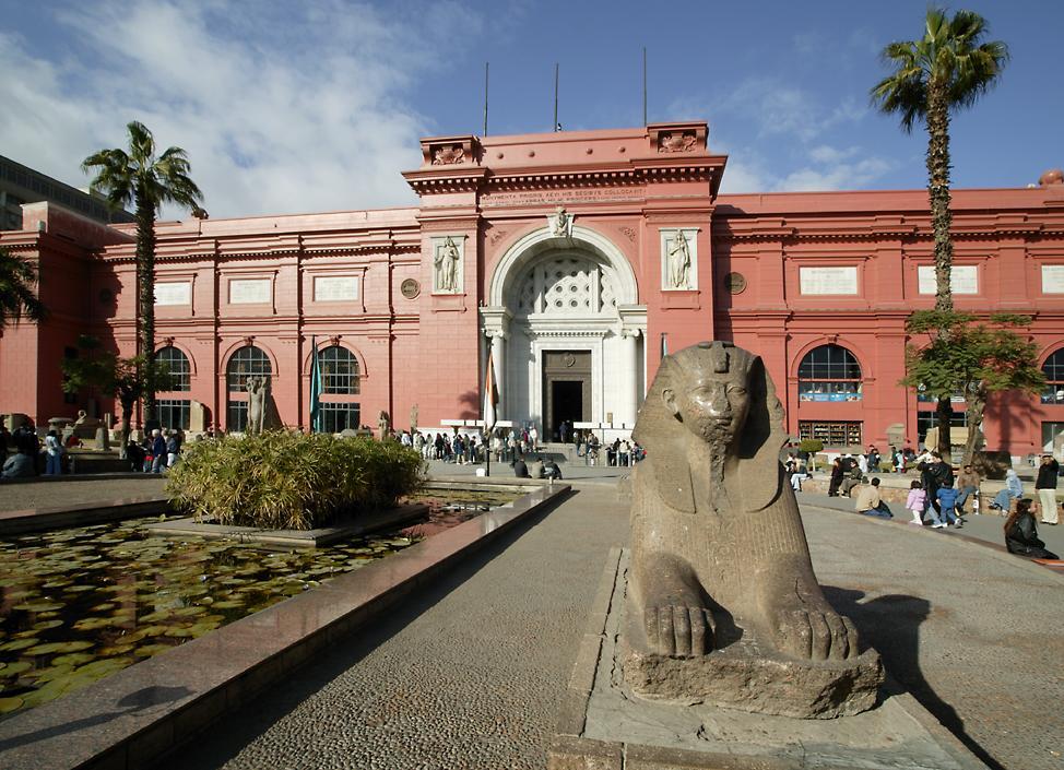 Si turistii nevazatori pot vizita Muzeul Egiptean din Cairo!