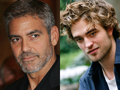 Cine e mai sexy: Robert Pattinson sau George Clooney?