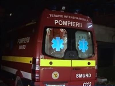 O ambulanta SMURD a accidentat mortal un barbat. Soferul da vina pe victima