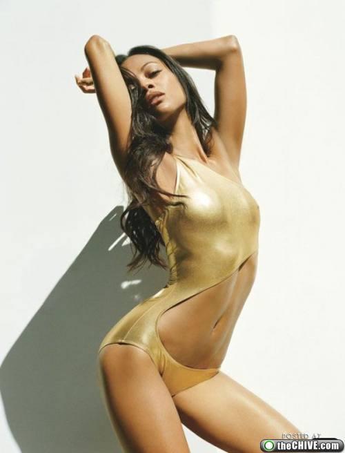 """Zoe Saldana, printesa din """"Avatar"""", nu poate trai fara sex!"""