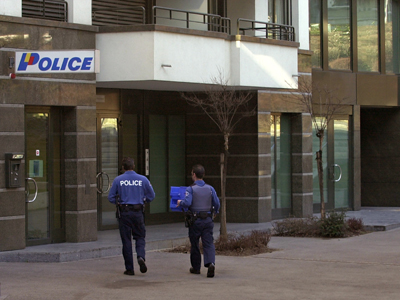 Seful politiei cantonale s-a sinucis inainte de forumul de la Davos
