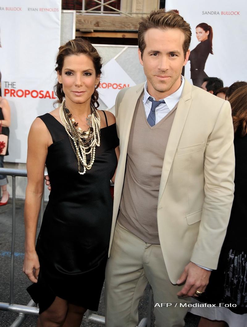 O noua poveste de iubire?! Sandra Bullock si Ryan Reynolds