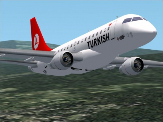Tentativa esuata de deturnare a unui avion al Turkish Airlines