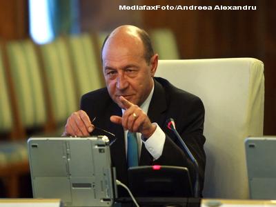 Basescu: Nu putem sa stam ca ramele.Avem dreptul sa fim in spatiul Schengen