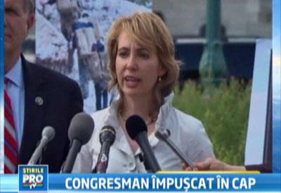 Cum arata acum deputata americana care a ramas fara jumatate de craniu dupa ce a fost impuscata