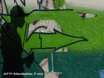 Olandez prins in timp ce desena graffiti pe un tramvai din depoul Colentina