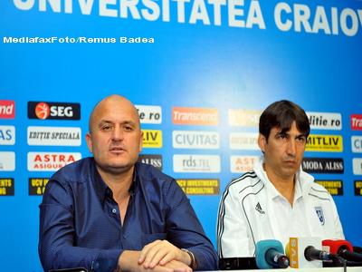Victor Piturca a fost suspendat din functia de antrenor al U.Craiova!