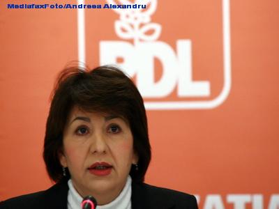 Sulfina Barbu: E surprinzator ca Ponta a dat Partidului Conservator si padurile