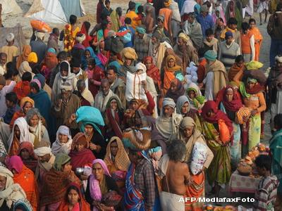 Peste 100 de persoane au fost ucise intr-o busculada din India. VIDEO